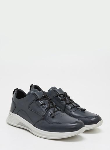 F By Fabrika Erkek Siyah Sneakers PIYAR. Gri